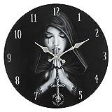 Gothic Wanduhr schwarz Uhr MDF Anne Stokes Collection