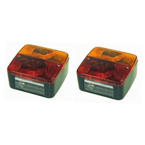 leisure MART 2x luci Posteriori per rimorchio Four Function (Coppia) Adatto per rimorchio Lighting Boards PT No. LMX1717