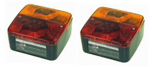 leisure MART 2Luces traseras para Remolque con Cuatro Funciones, para Panel de Control de iluminación LMX1717