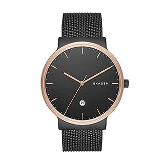 Skagen Men's SKW6296 Ancher Black Mesh Watch (B01EHC6HDK) | Amazon price tracker / tracking, Amazon price history charts, Amazon price watches, Amazon price drop alerts
