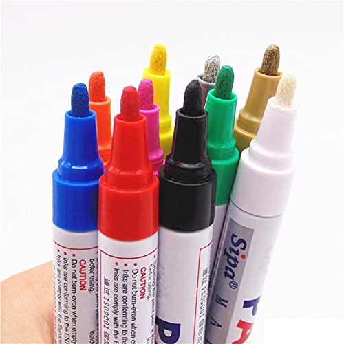 Pluma de Lujo Colores Pintura Marcador Permanente Pluma Pintura Grasa papelería Pluma