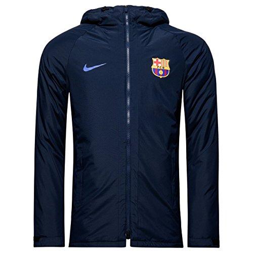 Nike FCB M JKT SQD SDF - Jacke FC Barcelona Blau - M - Herren