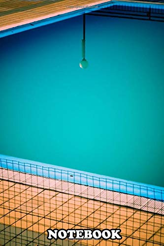 Notebook: Ganora Pool Lamp Reflection In Swimming , Journal for Writing, College Ruled Size 6' x 9',...
