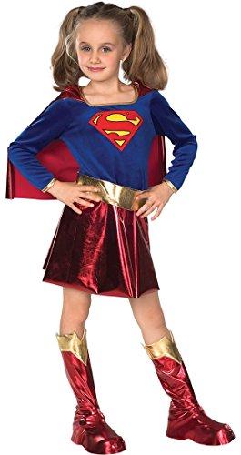 Rubbies - Disfraz de Supergirl para niña, talla S (3-5 años) (VZ-2226)