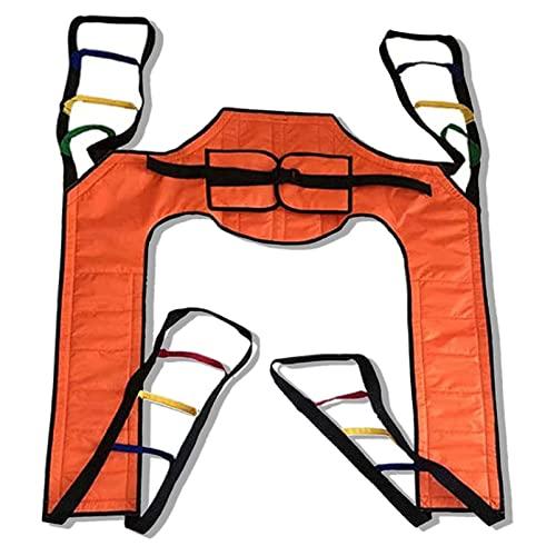 Dbtxwd Eslinga para Elevación De Pacientes, Eslinga De Elevación del Cinturón del Paciente del Tobogán De Escalera para Ancianos Discapacitados Bariátricos Usados con Recorte para Inodoro