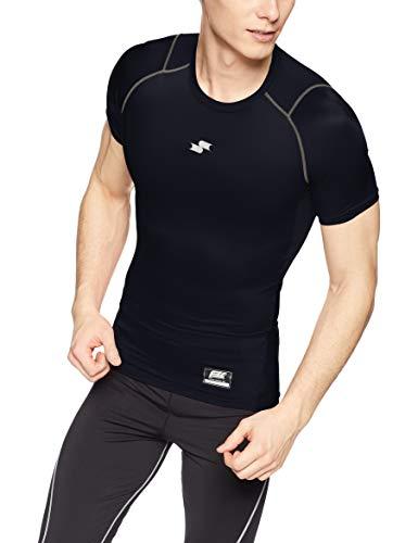 [エスエスケイ] アンダーシャツ SCβやわらかローネック半袖フィットアンダーシャツ メンズ SCB019LH ネイビー (70) M