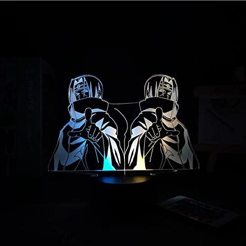 Figura De Anime Manga Decoración Para El Hogar Lámpara 3D Lámpara Led Luz De Noche Para El Hogar...