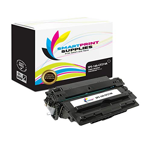 Smart Print Supplies Compatible 14A CF214A Black Toner Cartridge Replacement for HP Laserjet Enterprise 700 M712 M725 Printers (10,000 Pages)