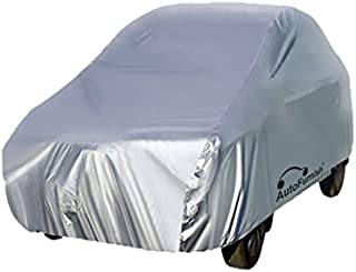 Autofurnish Silver Car Body Cover Compatible with Renault Duster - Silver