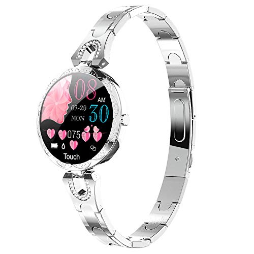 Classic Women Smart Bracelet Blood Pressure Heart Rate Monitor Dress Watches for iOS Android Fitness Tracker for Women