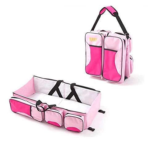 Ylmhe 3 In 1 multifunctionele baby veranderen zakken reizen bed mama tas wieg dragen Cot voor 0-12 maanden