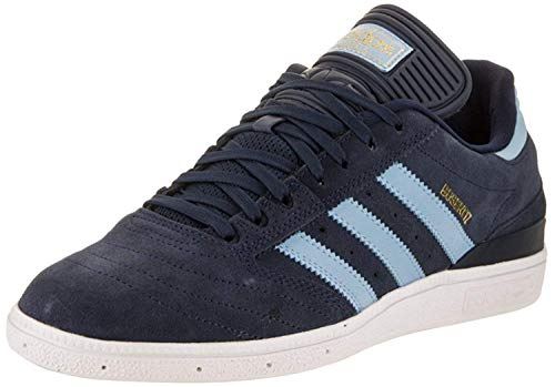 adidas Men's Busenitz Sneakers, Core Black, FTWR White, Gold Met, (9.5 M US)