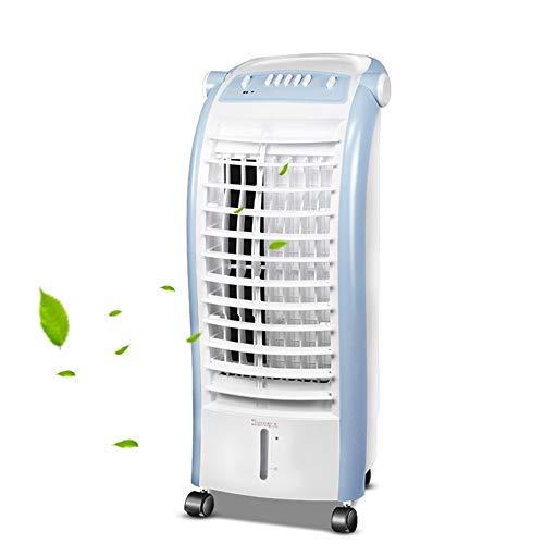 FUFU Climatizadores evaporativos Enfriador de Aire, Ventilador de Aire Acondicionado con 4 velocidades de Viento, humidificador de Aire por evaporación compacta, Rango de Agua de 6 litros, fo
