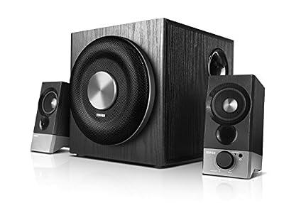 Edifier M3600D Black | THX Certified 2.1 Multimedia Speaker System from Edifier