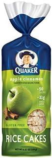 Quaker Rice Cakes Apple Cinnamon 6.53 Oz - 6 Unit Pack