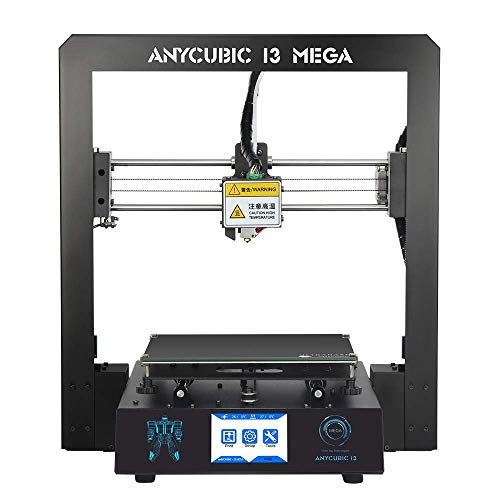 ANYCUBIC MEGA I3 3D Printer with Patented Heat Bed and Free 1kg PLA Filament, Works with PLA/Hips/Wood etc