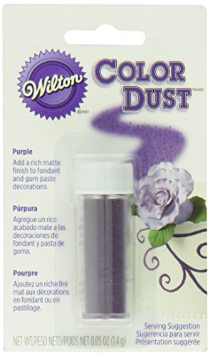 Wilton 703-105 Color Dust Food Decorative, Purple
