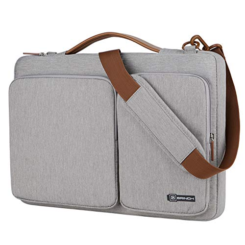 WOCTP Business topbag,Tragbare Laptoptasche 15,6 Zoll Computergehäuse Business Aktentasche Laptop Umhängetasche wasserabweisend langlebige Taschen für College/Frauen/Männernylon