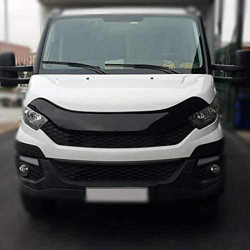 Luxell - Deflettore di pietra per cofano e cimici del vento, adatto per furgoni quotidiani [2014+]