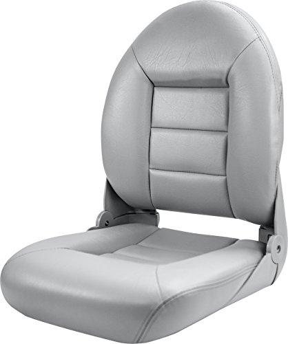 Tempress 54853 Navistyle High-Back Boat Seat - Gray