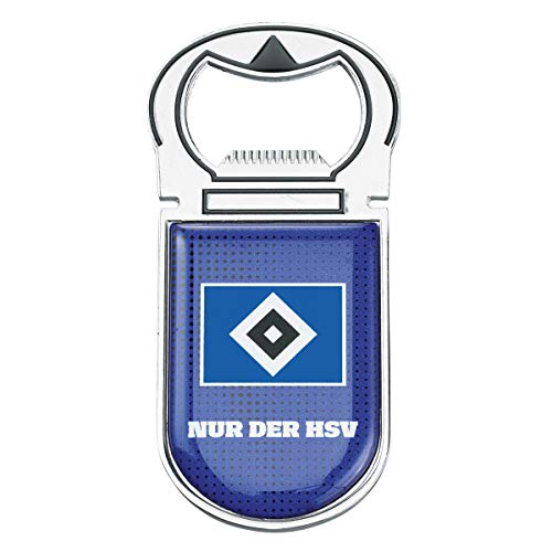 HSV Flaschenöffner Hamburger Sportverein SV + Sticker Hamburg Forever, Bottle Opener, abrebotellas, ouvre-bouteille