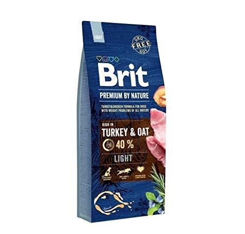 Brit Premium by Nature Light 15kg Hundefutter Trockenfutter