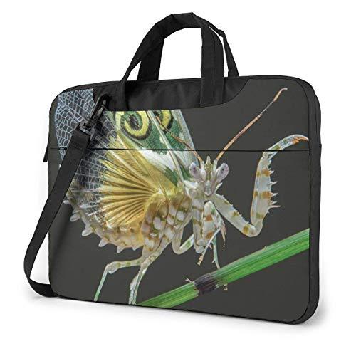 Laptop Shoulder Bag Carrying Laptop Case, Mantis Picture Computer Sleeve Cover, Business Briefcase Protective Bag