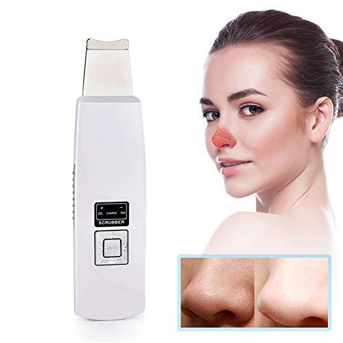 USB Rechargeable Épurateur Ultrasonique 4 Modes de Peau pour Nettoyage Point Noirs Les Pores Acné Ridules Visage Traitement Exfoliation Vibration Appareil de Massage Facial
