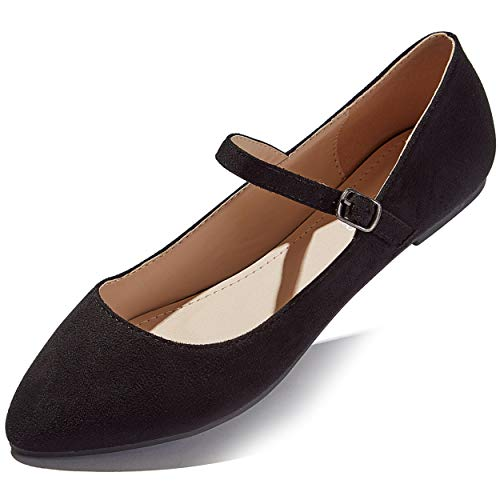 Top 10 best selling list for pointy flat shoes with strap