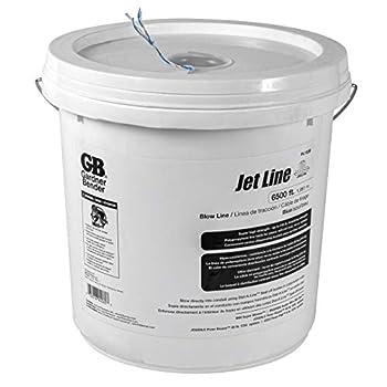 Gardner Bender PL132B Blow 210 lb Tensile Strength Polypropylene 6500 Ft/Bucket Pull line Blue and White