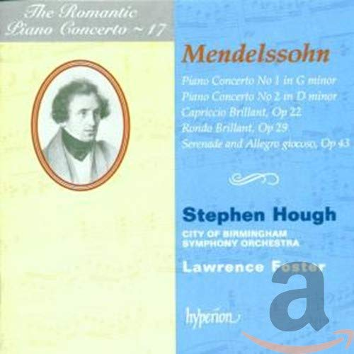 The Romantic Piano Concerto - Vol. 17 (Mendelssohn-Bartholdy)