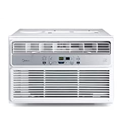 3-IN-1 FUNCTIONALITY - Midea's 3-in-1 technology combines air conditioning, dehumidification, and fan-only modes that work together to increase the comfort of your home FAST COOLING - This 8, 000 BTU model provides fast and efficient cooling and dehu...