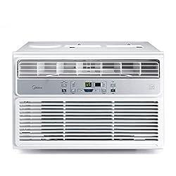 powerful Window air conditioner MIDEA EasyCool – Cooling, dehumidifying, remote control fan – 6000…