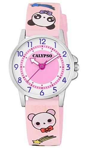 Calypso M6230 K5775/4 K5775 - Reloj de pulsera analógico para niños (correa de plástico y cuarzo), diseño multicolor