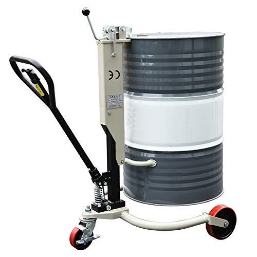 Carritos de la Compra Selector de tambor Handler-industrial de aceite hidráulico tambor del camión 660lb tambor de aceite del camionero levantador de la compra for las fábricas Talleres Almacenes y Op