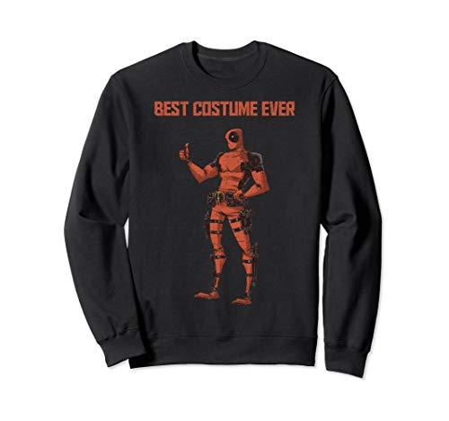 Marvel Deadpool Best Costume Ever Portrait Sweatshirt