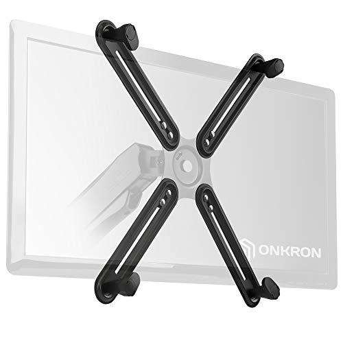 ONKRON Non Vesa Kit de montaje de monitor no VESA de 13 a 27 pulgadas, adaptador para montaje en pared o escritorio para pantallas que no son VESA