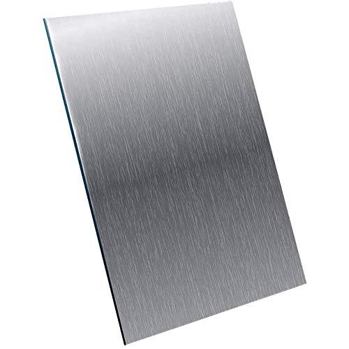 LOKIH Aluminiumbleche Platten Gut Schweißbar6061,2mmx100mmx100mm