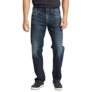 Silver Jeans Co. Men's  Relaxed Fit Tapered Leg Jeans