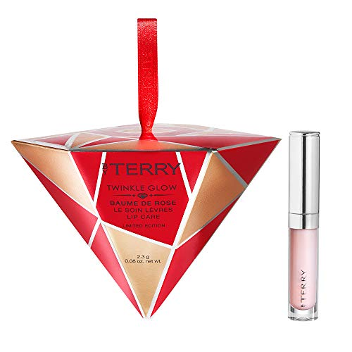 By Terry Twinkle Glow Baume De Rose Lipcare   Mini To-Go Set   Rose-Infused Formulas with Natural, Glossy Finish