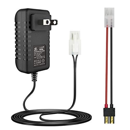 melasta 9.6V 7.2V 8.4V RC Car Battery Charger for Traxxas NiMH 7 Cell Hump 6 Cell Batteries