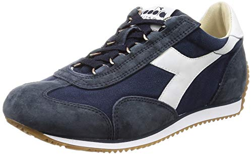 Diadora Sneaker Equipe H Canvas Stone WASH Blue Denim Taglia 46 - Colore BLU