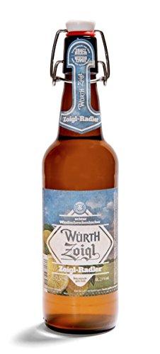 Würth Zoigl-Radler (12 Bügelflaschen 0,5l)