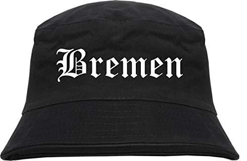 HB_Druck Bremen Fischerhut - Bucket Hat L/XL Schwarz
