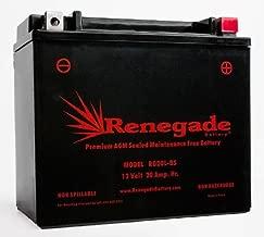 UTV Battery; RG20L-BS; Can-am (2011, 2012, 2013, 2014, 2015, 2016, 2017, 2018) Commander 1000 / Commander 1000 X/Commander XT/Commander DPS1000 / Commander Max 1000; BTX20L-BS, YTX20L-BS