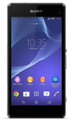 Sony Xperia Z1 Compact Smartphone (4,3 Zoll (10,9 cm) Touch-Display, 16 GB Speicher, Android 4.3) schwarz