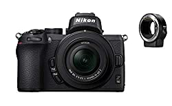 Superb image quality: wide Nikon Z mount, large 20.9 MP DX-format (APS-C) CMOS sensor, and fast EXPEED 6 image processor. Intelligent eye-detection AF: automatically focuses on a subject's eyes, whether they're Alone or a face in a crowd. 4K movies: ...