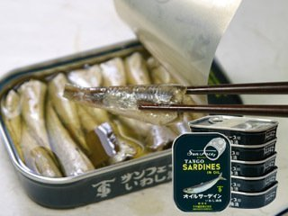 竹中罐詰オイルサーディン 105g×5缶セット