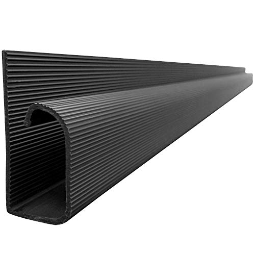 J Channel Cable Raceway - Black - 48' Length