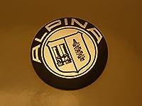 BMW Alpina Logo Style Laser Cut Magnet アルピナ マグネット 磁石 海外限定 50mm [並行輸入品]